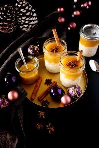 Winter Milchreis mit Orangen Vanille Sauce // Rice Pudding with Vanilla Orange Sauce by https://babyrockmyday.com/winter-milchreis/