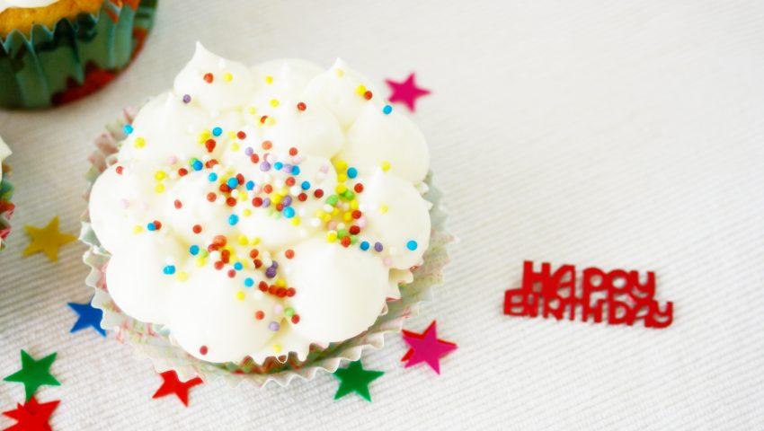 Cupcakes zum Geburtstag // Birthday Cupcakes by http://babyrockmyday.com/cupcakes-zum-geburtstag/