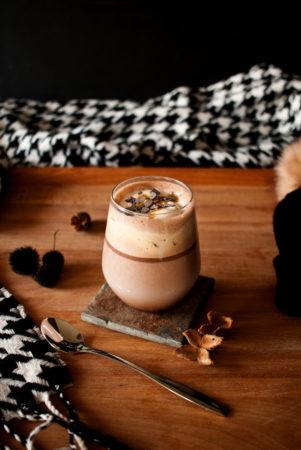 Nutella Traum, heiße Milch mit Nutella und Sahne // Hot Milk with Nutella and Cream by http://babyrockmyday.com/nutella-traum/
