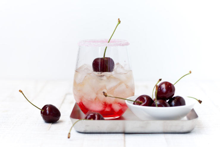 6 Bloggerinnen - 1 Menü: als Aperitif einen Shirley Temple // Shirley Temple Drink by http://babyrockmyday.com/shirley-temple/