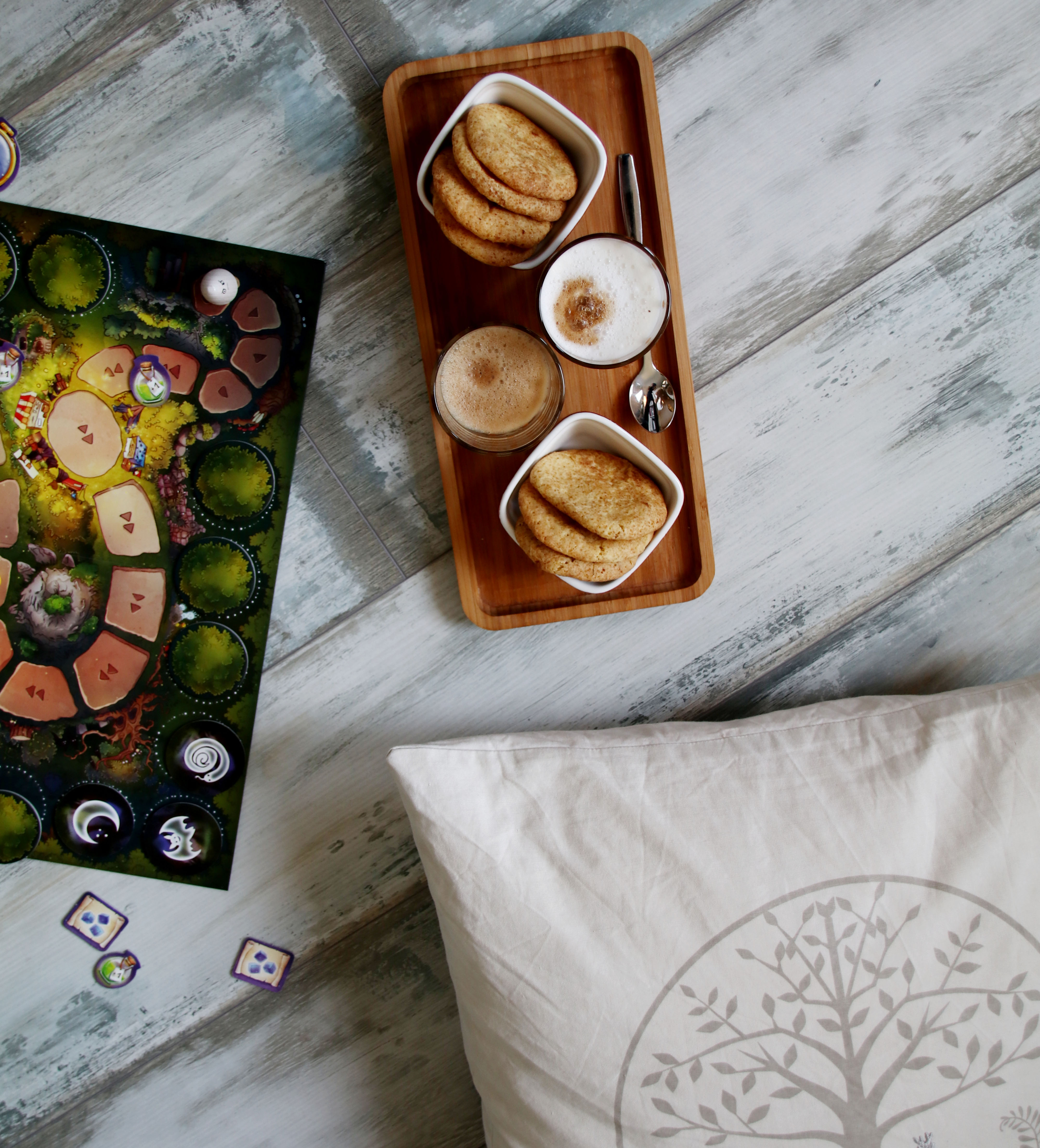 Spielenachmittag mit Zauberei hoch drei und Snickerdoodles // Board Game Time and Snickerdoodles by http://babyrockmyday.com/snickerdoodles/