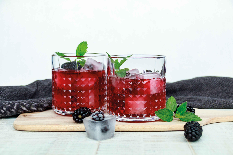 Berry Cooler mit Brombeeren // Berry Cooler with Blackberries by http://babyrockmyday.com/berry-cooler/