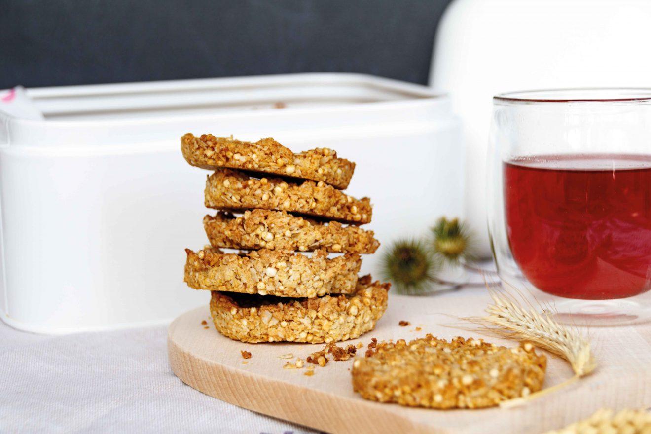 Anzac Biscuits oder englische Kekse zum Tee