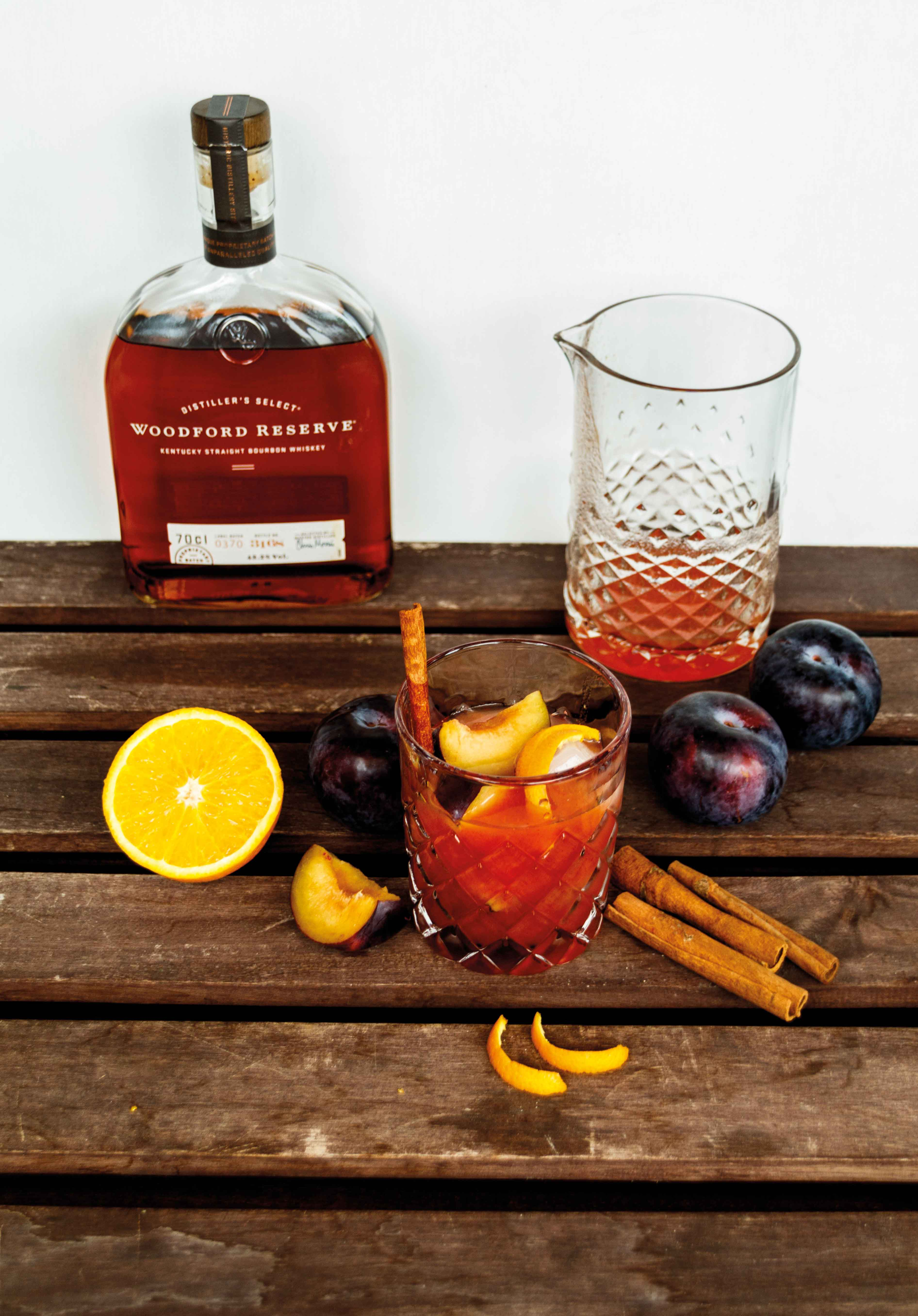 Herbstlicher Whiskey Smash mit Pflaumen und Woodford Reserve // Whiskey Plum Smash by http://babyrockmyday.com/whiskey-smash-mit-pflaumen/1