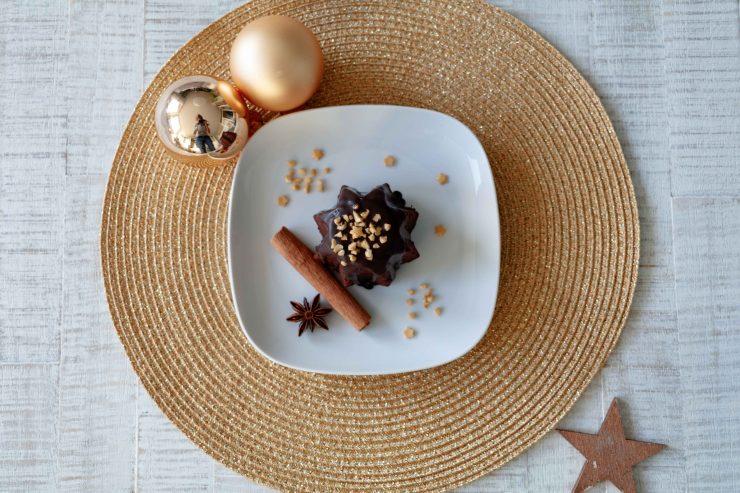 Tipps für Weihnachten: Schoko Küchlein // Little Chocolate Cakes by http://babyrockmyday.com/schoko-kuechlein/