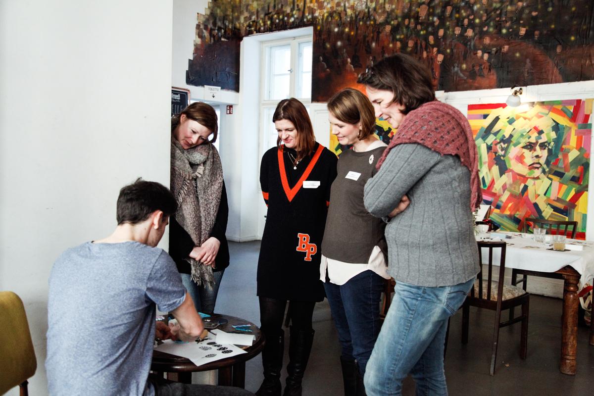 Bloggerevent: Basteln für Ostern // DIY Workshop by http://babyrockmyday.com/basteln-fuer-ostern/