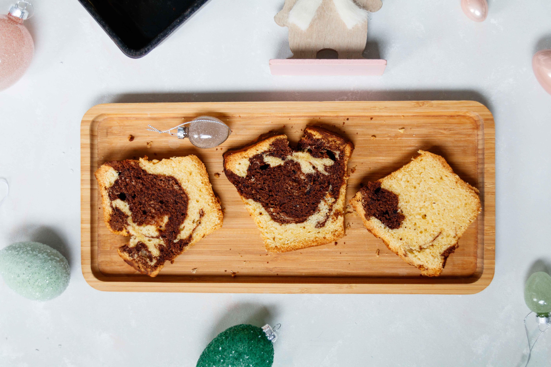 Tipps für Ostern: Marmorkuchen mit Schuss // Marble Cake by http://babyrockmyday.com/marmorkuchen-mit-schuss/