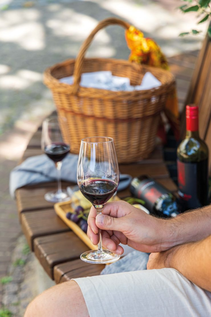 Picknick mit Apothic Red Wein und Cheddar Shortbread / Picnic with Apothic Red Wine and cheddar shortbread by https://babyrockmyday.com/picknick-mit-cheddar-shortbread/