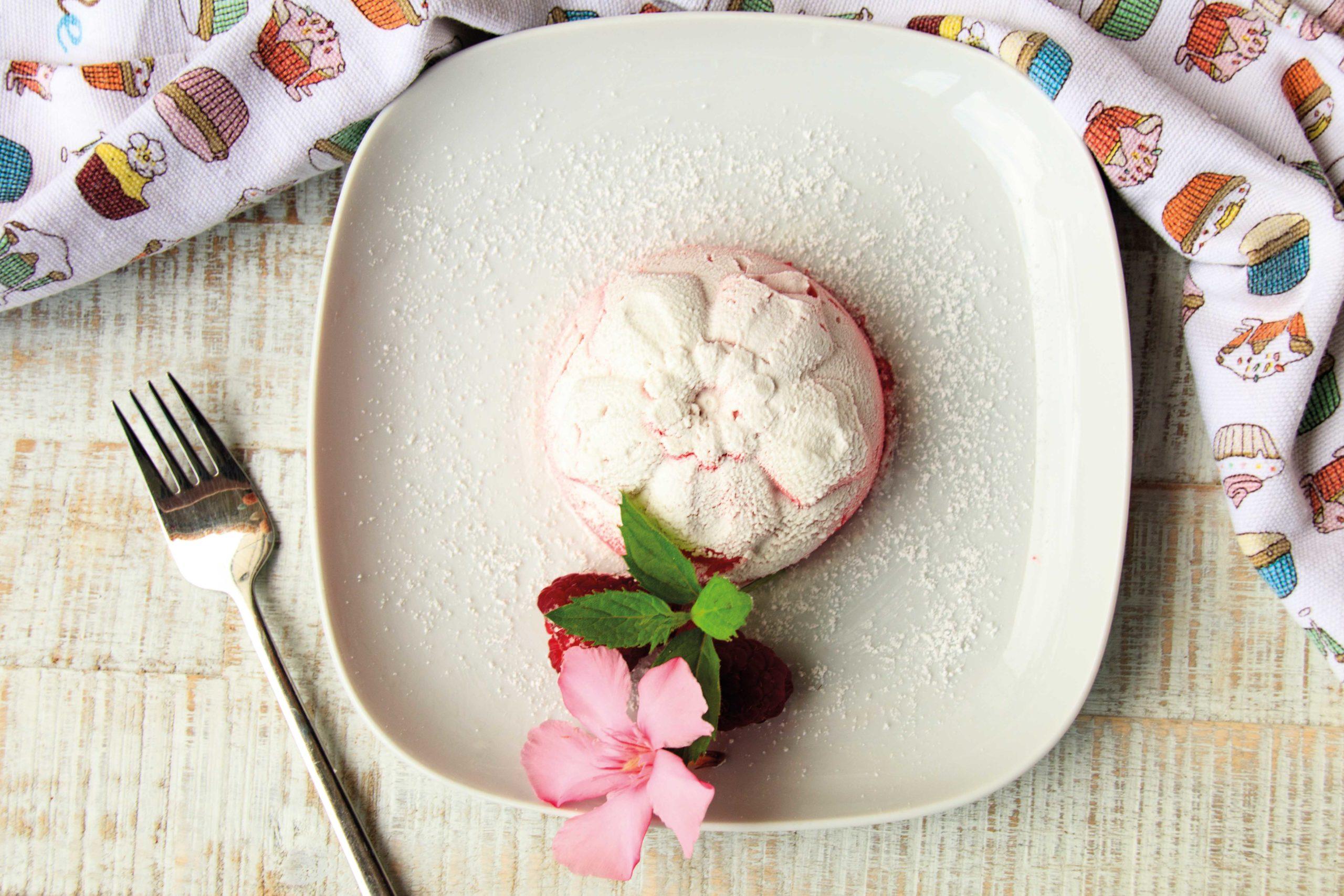 Eiskaltes Himbeer Dessert // Raspberry Dessert by http://babyrockmyday.com/himbeer-dessert