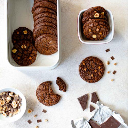Brownie Cookies by https://babyrockmyday.com/brownie-cookies/