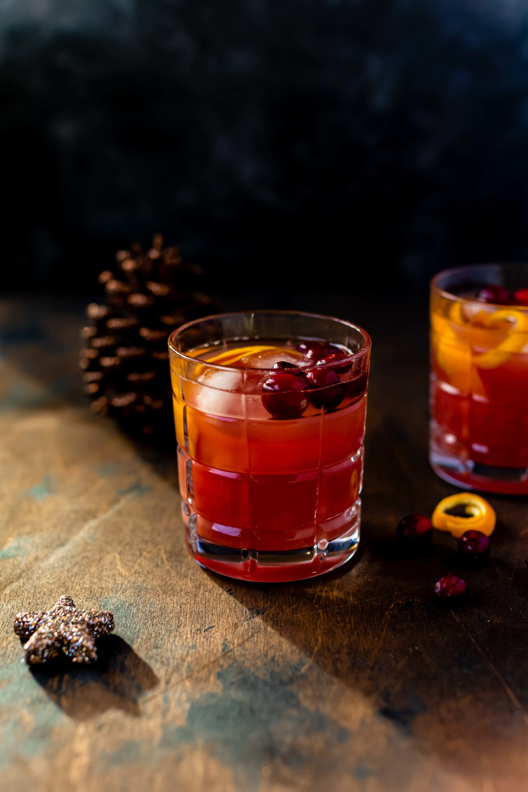 Tipps für Weihnachten: ein weihnachtlicher Cranberry Drink // Cranberry Christmas Drink by https://babyrockmyday.com/weihnachtlicher-cranberry-drink