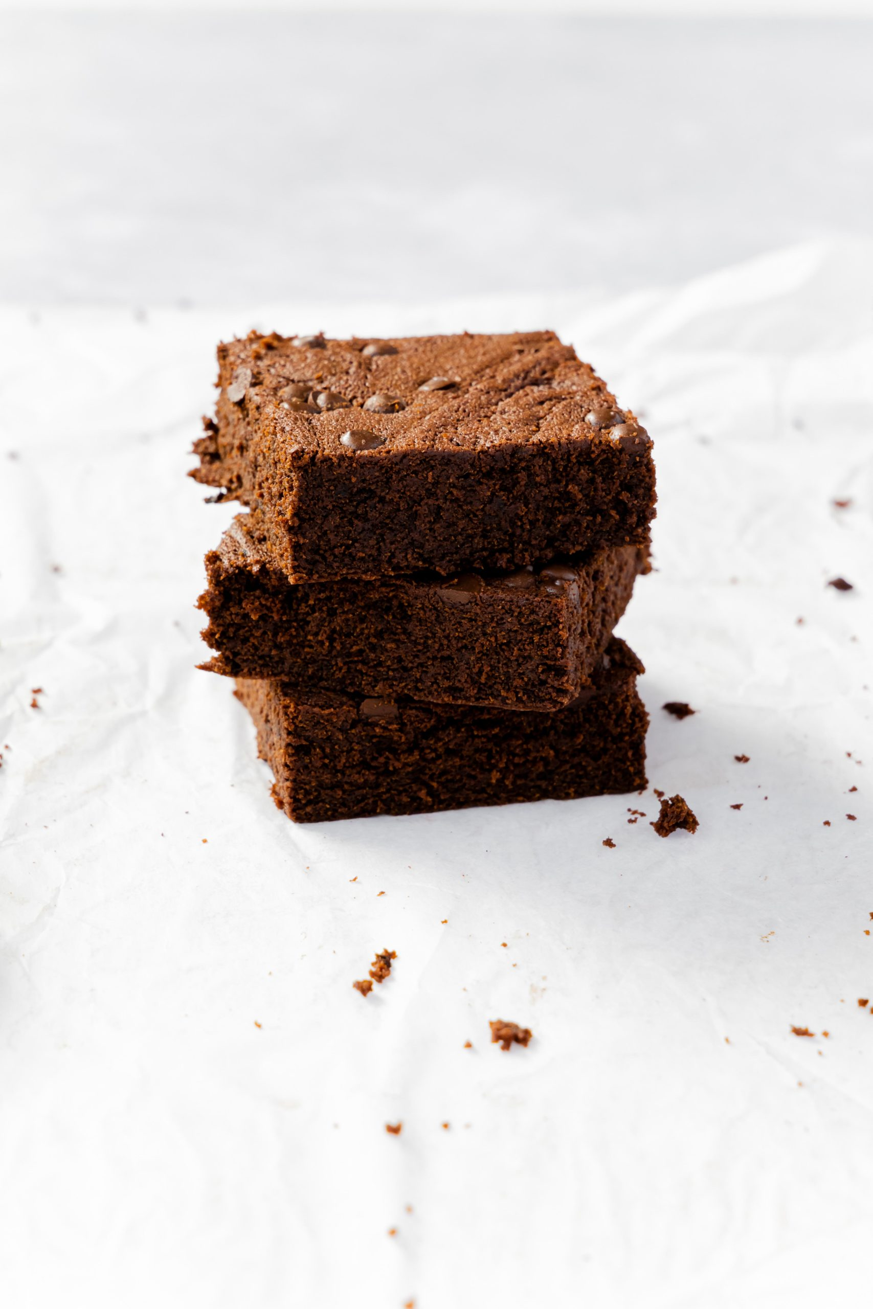 Kaffee Brownies// Coffee Brownies by https://babyrockmyday.com/kaffee-brownies/
